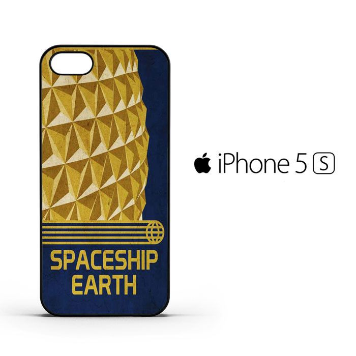 Spaceship Earth Epcot Poster B0040 iPhone 5 | 5S Case