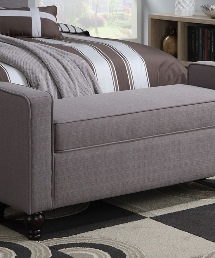 Look At This Sterling Taupe Storage Bed Bench On Zulily Today Bedroom Pinterest Taupe