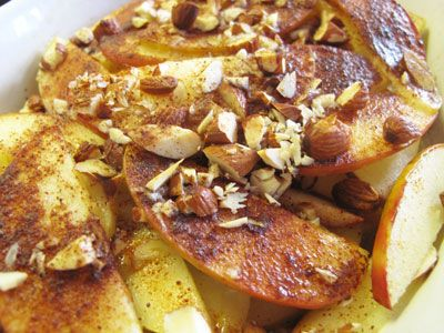 Tosca apples - an easy to cook dessert in the oven