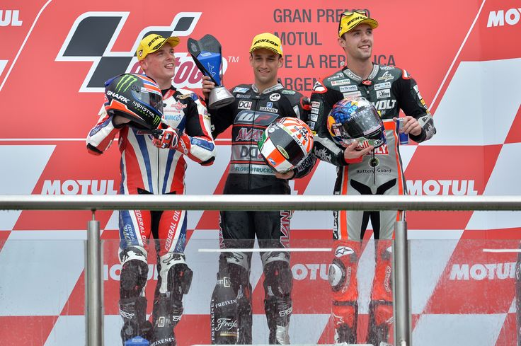 Great results for our ‪#‎tcxriders‬ in Argentina! P1 for Johan Zarco and P2 for Sam Lowes
