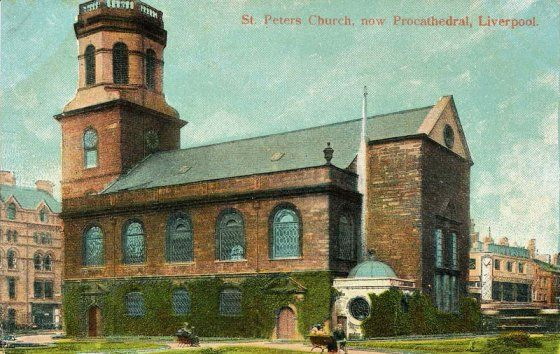 St Peter's, Liverpool liverpool-l1-st-peters-church-now-procathedral-1900