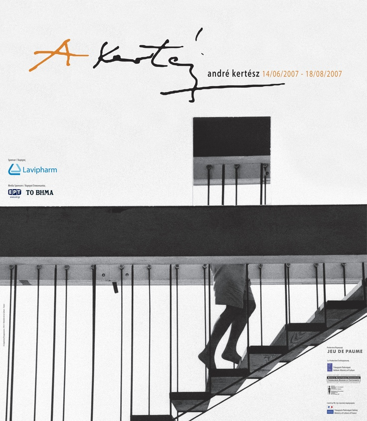 """Andre Kertesz"" poster"