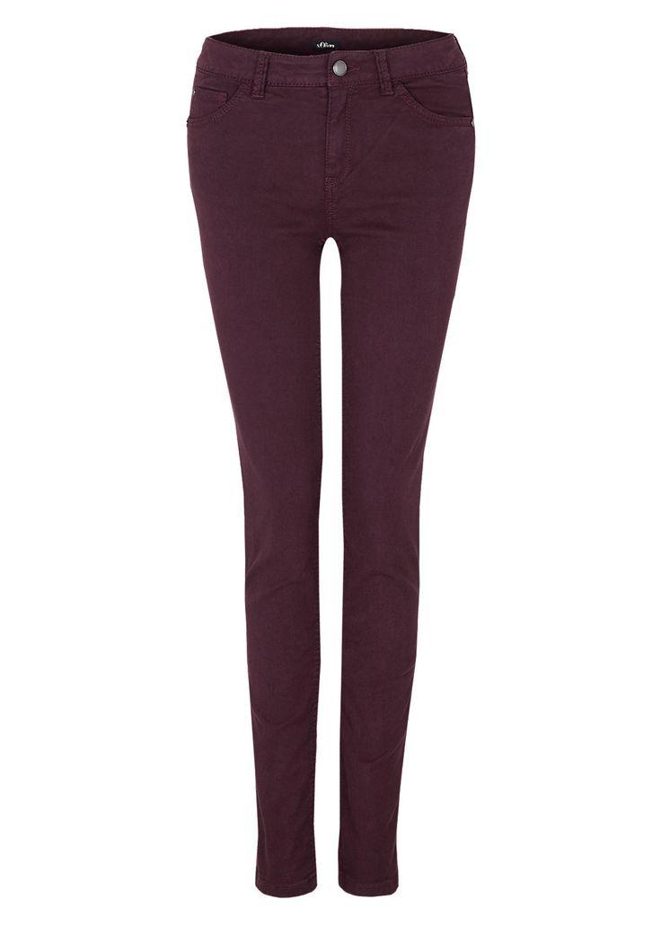 Slim: Stretchige Colored Denim von s.Oliver. Entdecken Sie jetzt topaktuelle Mode für Damen, Herren und Kinder und bestellen Sie online.