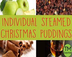 TM Essentials Steamed Christmas Puddings