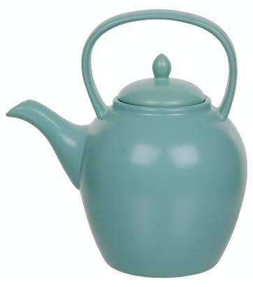 Een heerlijk kopje thee met deze theepot van VD.nl    love, love,love!