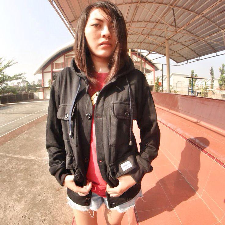 ELPARKA - BLACK #jacket #parka