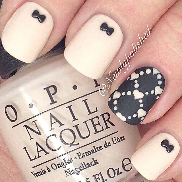Chic and unique christmas nail art design happy - Nail art chic ...