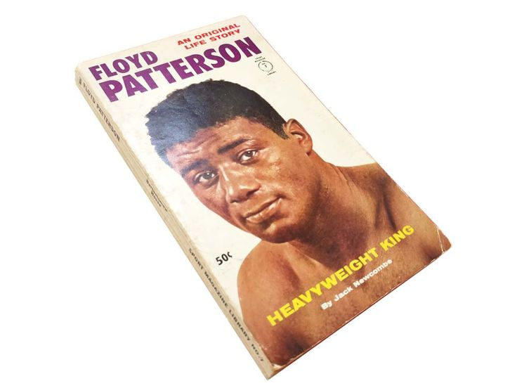 Floyd Patterson by Jack Newcombe Heavyweight King An Original Life Story Boxing Great Book Paperback 1961 Sport Magazine Library No 7 by CollectionSelection on Etsy professional boxing boxer