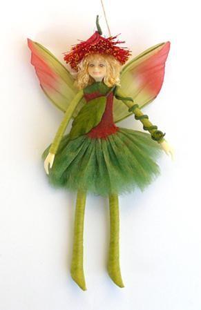 NZ Pohutukawa Tree Elf Doll. I love this .On my wish list.