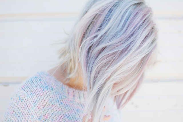 Designed to show up slightly diffused and fade beautifully, this collection is perfect for adding rainbow dreaminess to your hair.
