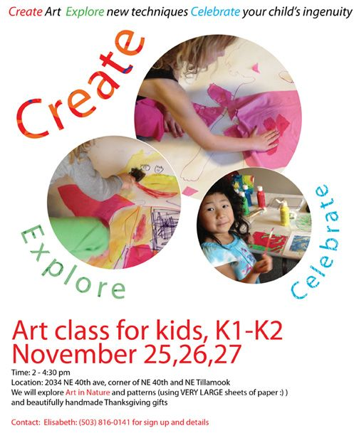 17 best images about expired art class flyers designs on for Art and craft classes for kids