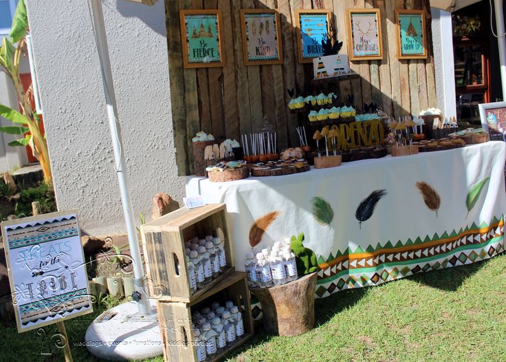 Wild One Dessert Table with sign #WildOne