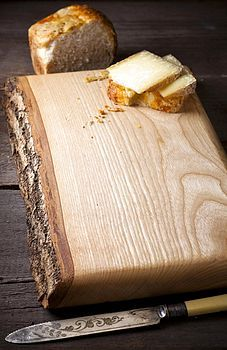 waney ash chopping board  £64.50