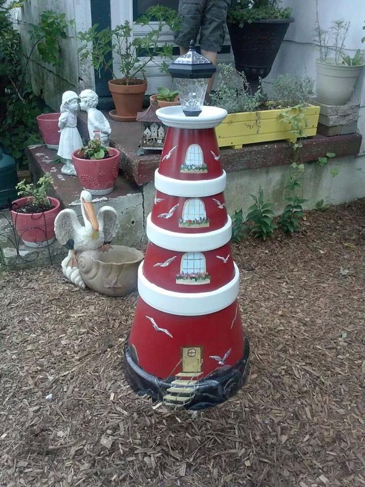 Terra cotta light house