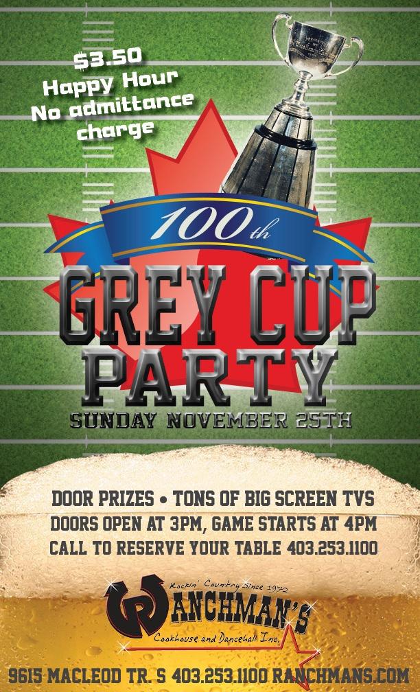 Grey Cup Party