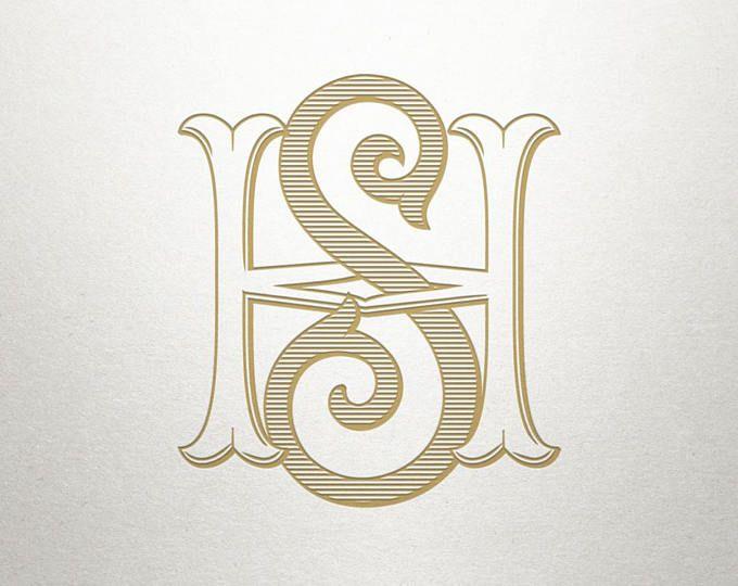 Premade Logo Monogram Gv Vg Premade Logo Digital Monogram Logo Monogram Logo Design Hs Logo