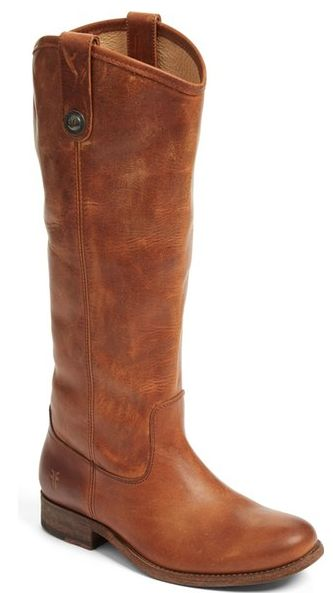 loving these brown leather Frye boots - and they're under $250!