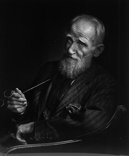 George Bernard Shaw by Yousuf Karsh 1943