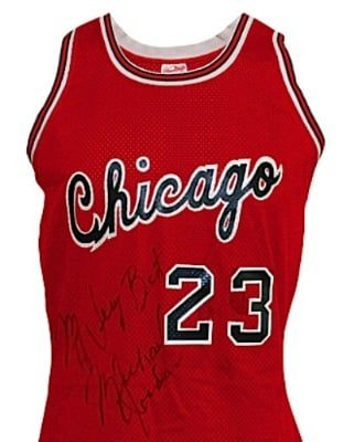 6. 1984 Game-used and autographed jersey - The Most Expensive Michael Jordan Memorabilia Ever Sold | Complex