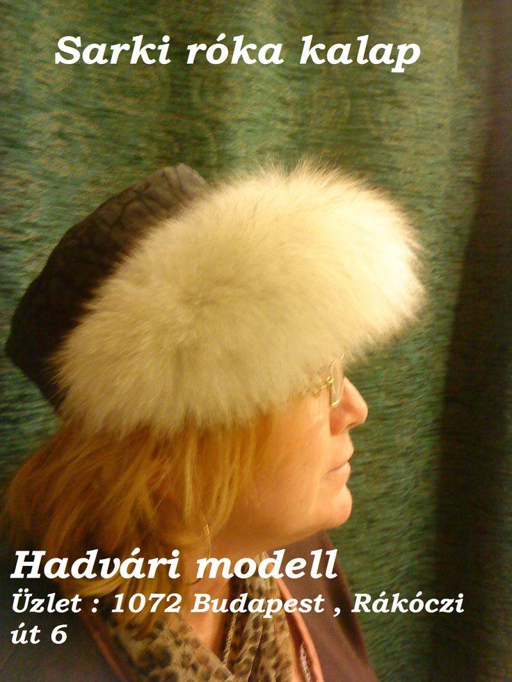 Sarki róka kalap - Fox hat---- 1072 Budapest , Rakoczi ut 6 HUNGARY--- Facebook page :https://www.facebook.com/hadvarisapka