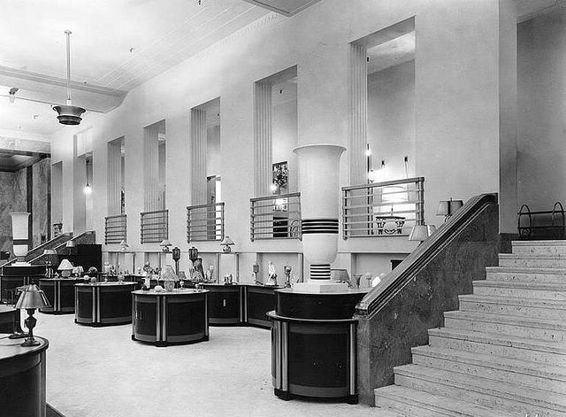 Inside Eaton's on College Street in Toronto, 1940