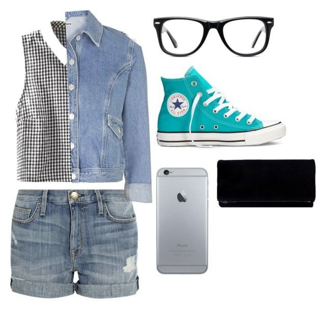 looking fresh by dj-eyecandy on Polyvore featuring Topshop, Current/Elliott, Converse and Muse