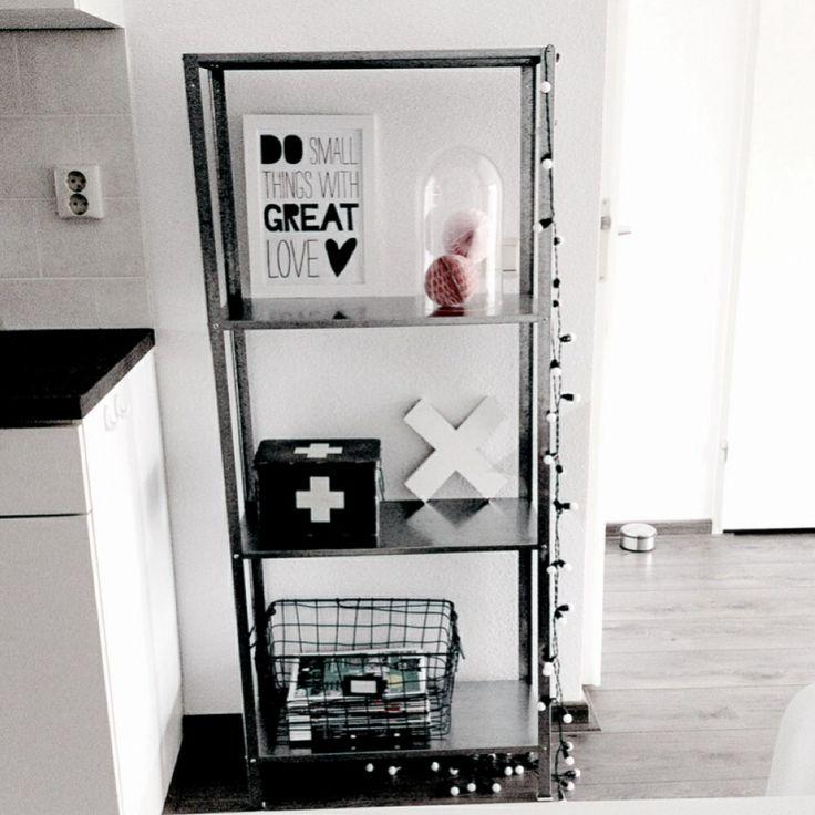 Stellingkast van de Ikea