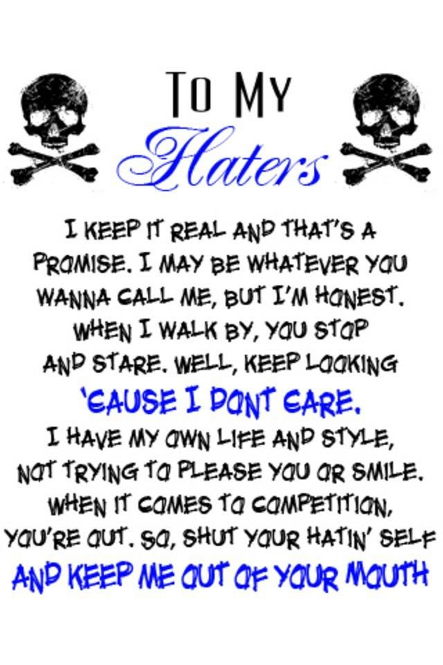 Ghetto Quotes and Poems | Ghetto Poems About Haters