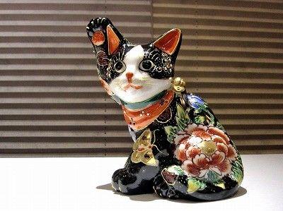 ハチワレ招き猫 - 暮らしを美しむ小道具の店 環 和雑貨・工芸品・オーダーメイド雑貨