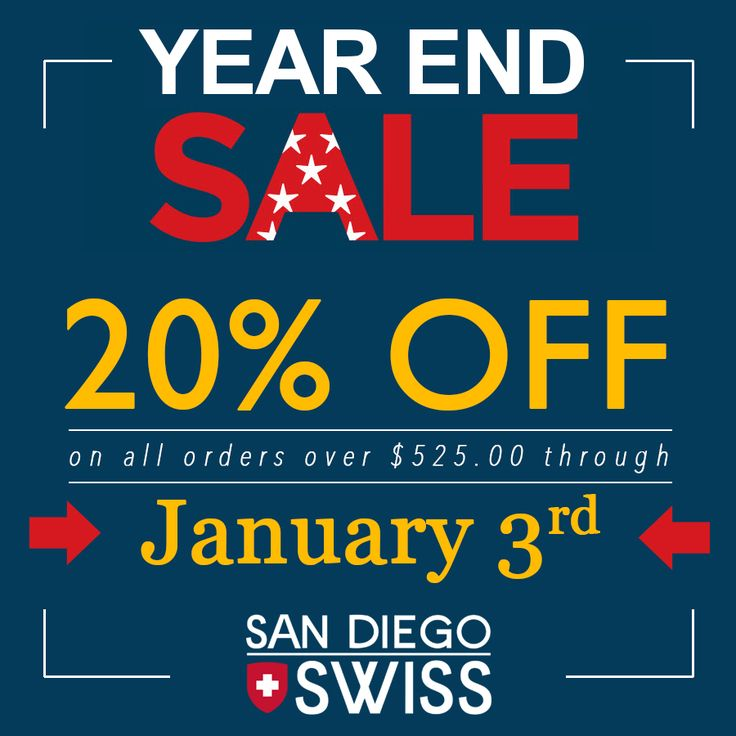 San Diego Swiss's 2017 YEAR END SALE! Get 20% OFF all orders of precision endodontic instruments over $525.00 now through Wednesday, January 3rd, at +San Diego Swiss! Be sure to check out the new TUFI® SE, Slim Endo Tip http://www.sdswiss.com/tufi-se-slim-endodontic-ultrasonic-tip/ #SDSwiss #Endodontic #Ultrasonic #Restorative #Dentistry #Instruments #RootCanal #Endodontist #DiamondCoated #20PercentOff #YearEndSale #Sale www.sdswiss.com