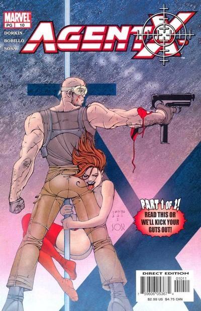 Agent X # 10 by Juan Bobillo & Marcelo Sosa