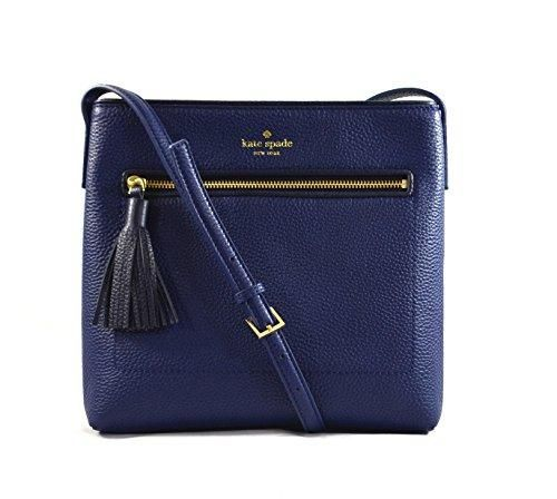 Kate Spade New York Chester Street Dessi Pebbled Leather Shoulder Crossbody Bag, Oceanic Blue, Offshore + FREE TWO DAY PRIME SHIPPNG