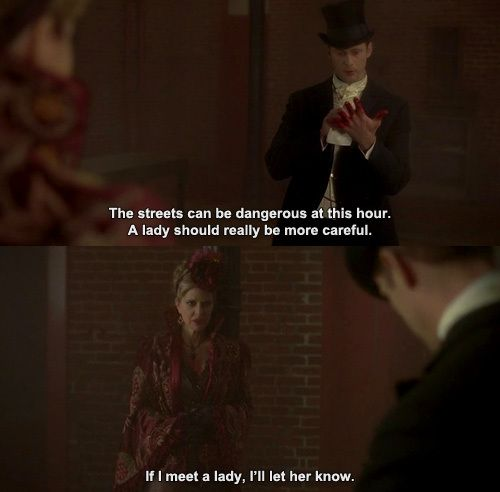 "True Blood ~ ""If I meet a lady..."""
