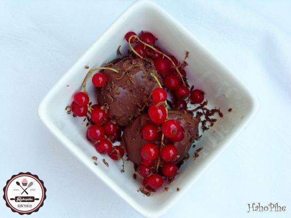 egyszerű csokifagyi