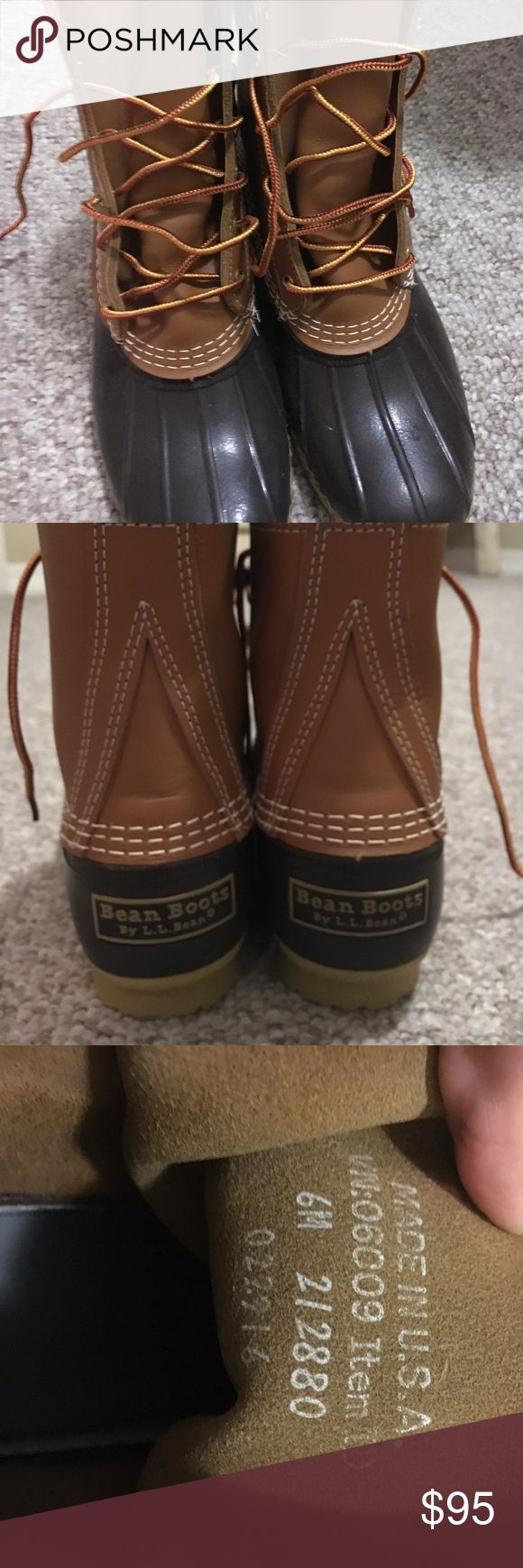 """LL Bean Boots Classic 8"""" LL Bean Boots. Color: Tan/Brown. Got these as a gift and they just aren't my style. Brand new, never worn. L.L. Bean Shoes Winter & Rain Boots"""