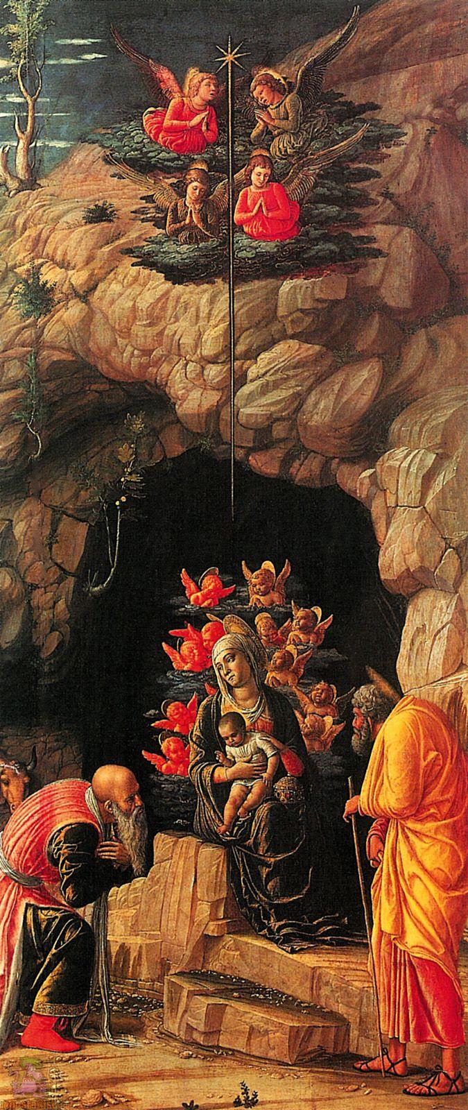 1460 - Adoration of the Magi - Andrea Mantegna