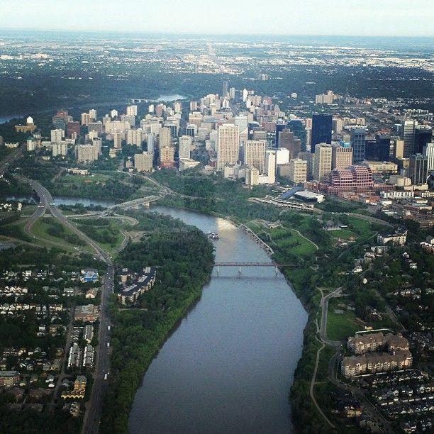 "@djchopperboy's photo: ""Downtown #yeg""  Edmonton Alberta"