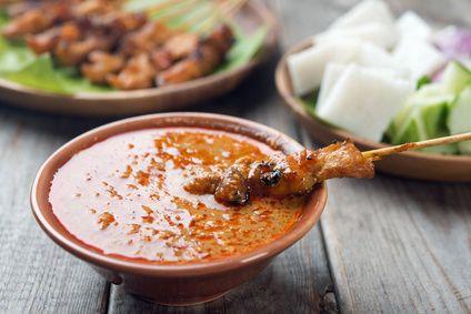 Indonesische Erdnuss-Sauce
