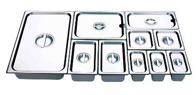 Minox 1-1 Full Size Gastronorm Pan Lid - Pans Trays - Kitchen & Catering Equipment