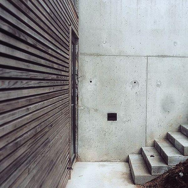 #danskboligarkitektur #tilbygning #nordic #architecture #facade #wood #cedar #concrete