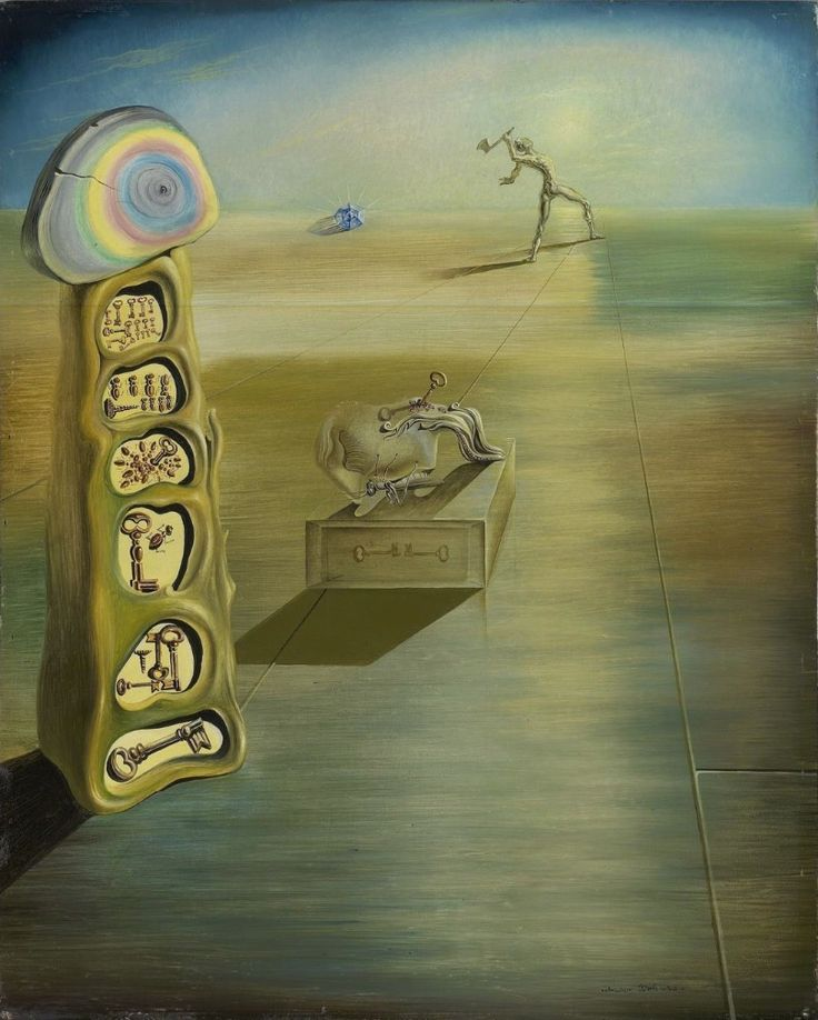 salvador dali giorgio de chirico The simplest surrealist act consists of dashing down the street, pistol in hand, and firing blindly, as fast as you can pull the trigger, into the crowd.