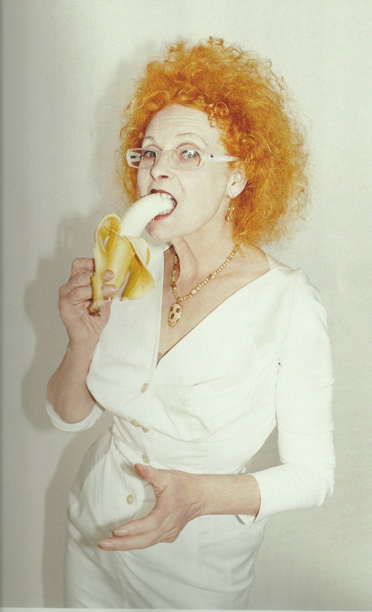 Dame Vivienne Westwood - fashion designer and businesswoman responsible for bringing punk and new wave fashion into the mainstream.