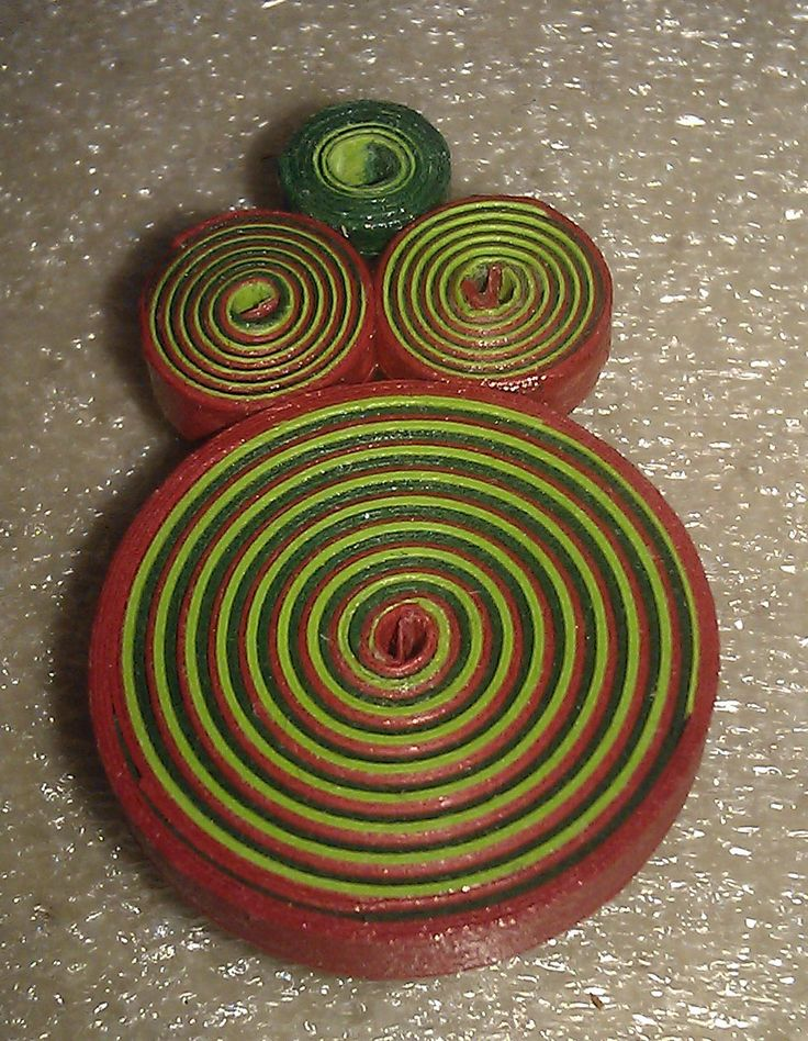 earring with spiral model