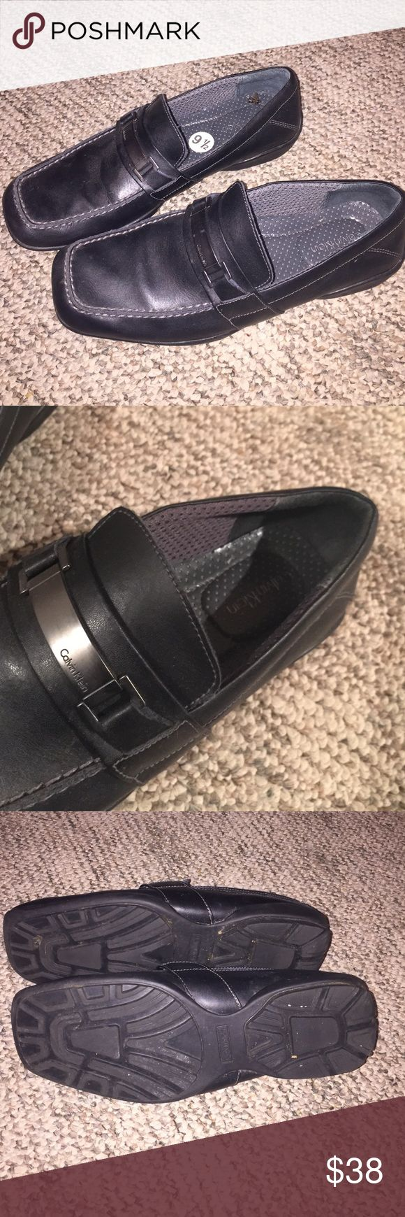 Calvin Klein dress shoes Mens calvin klein dress shoes. Good condition! Willing to accept offers. Calvin Klein Shoes Loafers & Slip-Ons