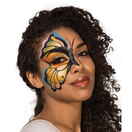 Deluxe Glitter Halloween Makeup Kit, Multicolor