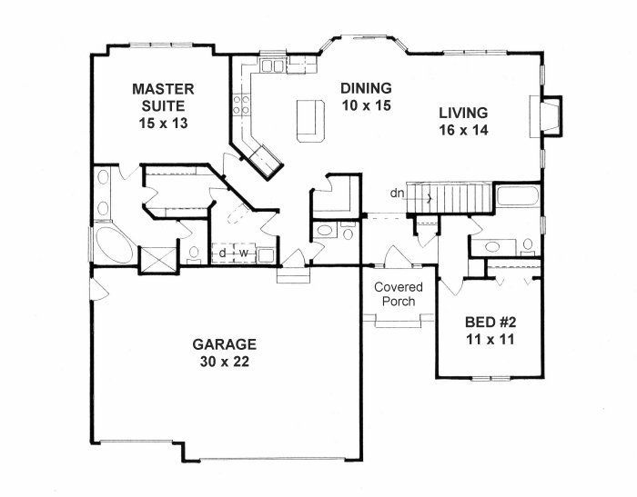 House Plans 1300 Sq Foot With 1300 Sq Foot Ho 17601 Design Ideas Basement House Plans New House Plans Bedroom House Plans
