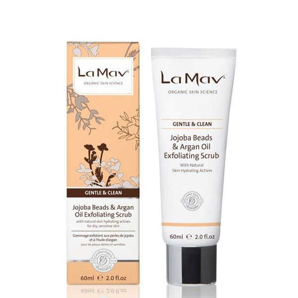 Shop online with La Mav today for Organic Jojoba Beads & Argan Oil Exfoliating Scrub. FREE SHIPPING on any order within Australia, earn reward points & AfterPay available.