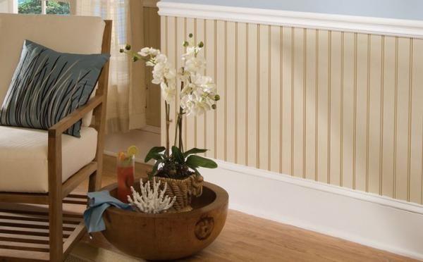 Revestimiento de madera para tus paredes deco y dise o for Paneles para revestir paredes de banos y cocinas
