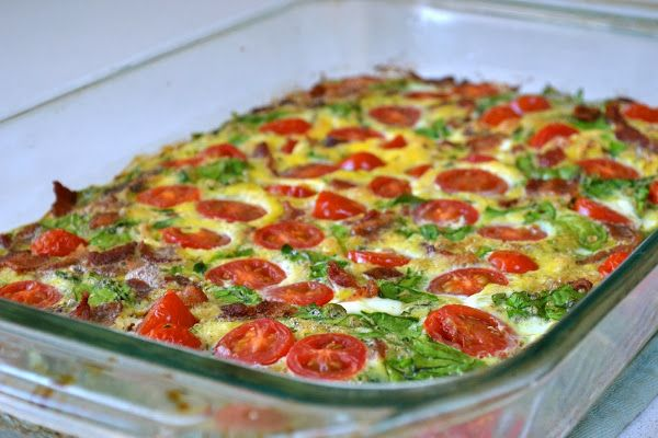 tomato basil quiche | Mandy - Clean Breakfasts | Pinterest
