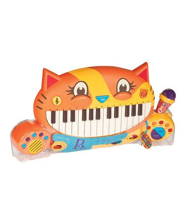 Love Battat's toys - Take a look at this Meowsic Keyboard by Battat on #zulily today!